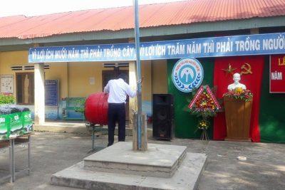 Những hình ảnh hào hứng, phấn khởi của thầy và trò Trường TH Nguyễn Văn Bé Năm học 2017 – 2018